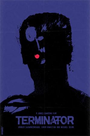 Dan Norris - Schwarzenegger Series Poster - Terminator