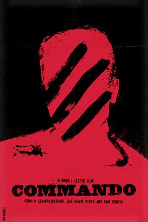 Dan Norris - Schwarzenegger Series Poster - Commando