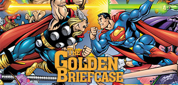 The Golden Briefcase - Marvel vs. DC