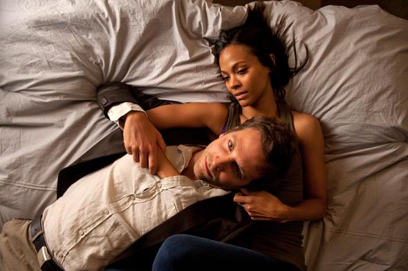 Bradley Cooper & Zoe Saldana in The Words