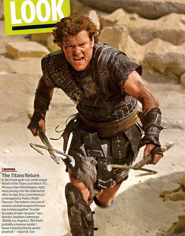 Wrath of the Titans First Look EW