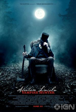 Abraham Lincoln: Vampire Hunter Lenticular Poster