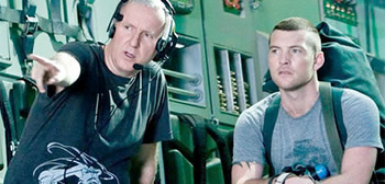 James Cameron & Sam Worthington