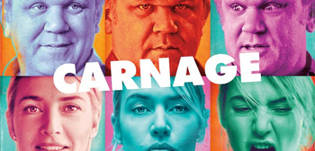 John C. Reilly & Kate Winslet in Carnage