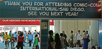 Comic-Con Goodbye