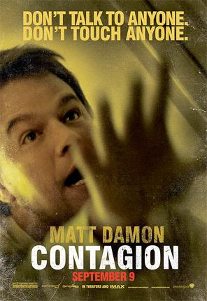 Contagion Character Poster - Matt Damon