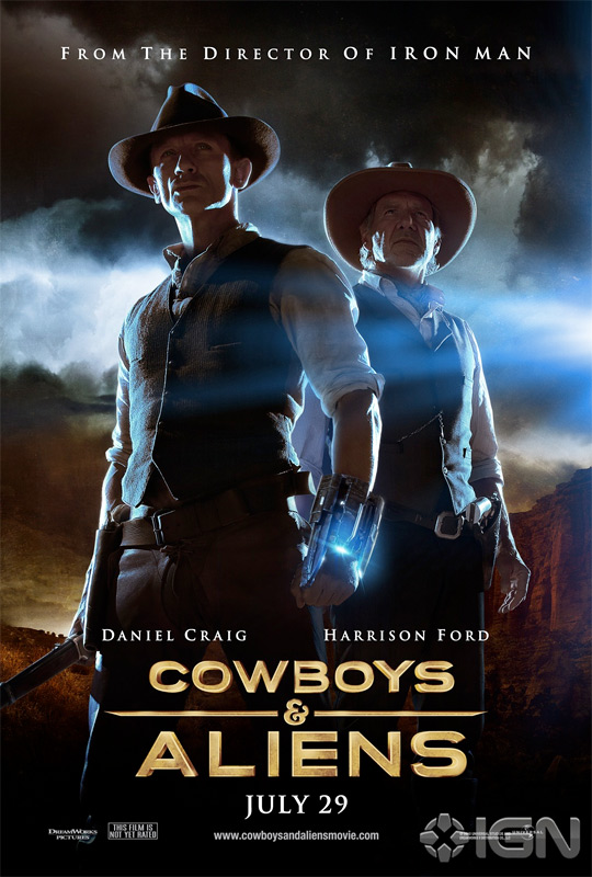 Cowboys &#038; Aliens Official Poster