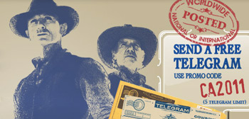 Cowboys & Aliens Telegrams