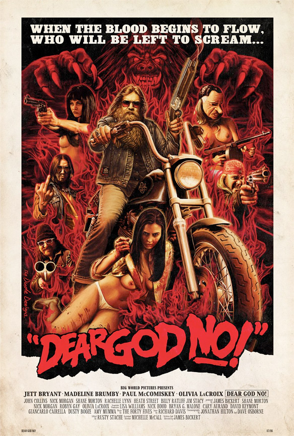 James Bickert's Dear God No! Poster
