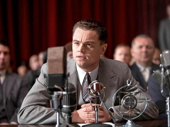 Leonardo DiCaprio as J. Edgar Hoover First Look