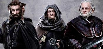 Dori, Nori and Ori from The Hobbit