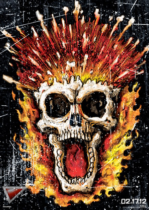 Ghost Rider: Spirit of Vengeance Graphic Art Posters