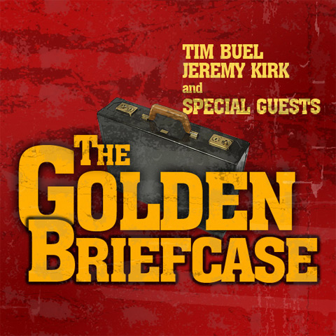 The Golden Briefcase Logo