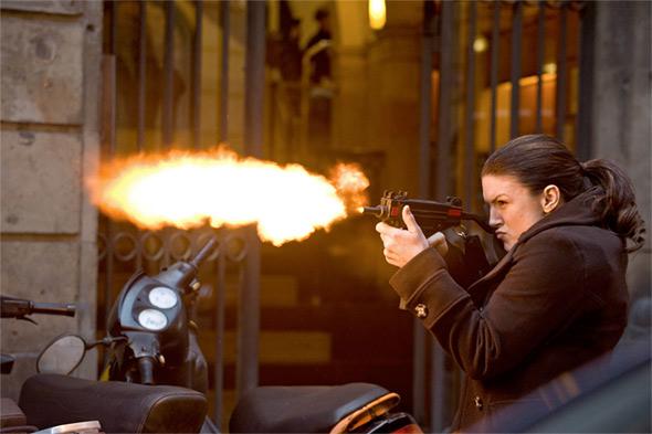 Gina Carano in Steven Soderbergh's Haywire