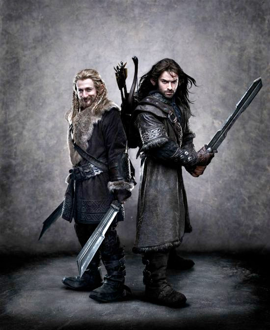 Fili & Kili in The Hobbit
