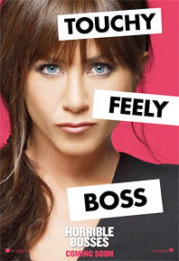 Horrible Bosses Poster - Jennifer Aniston