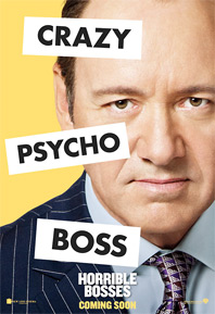 Horrible Bosses Poster - Kevin Spacey