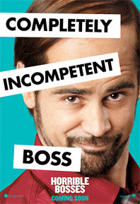 Horrible Bosses Poster - Colin Farrell