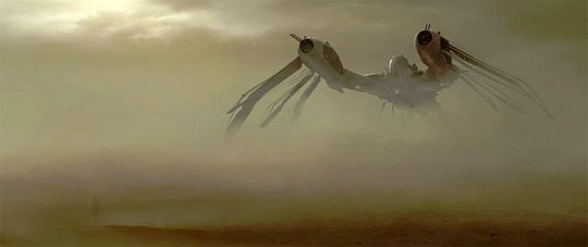 John Carter of Mars Concept Art