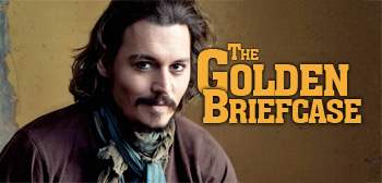 The Golden Briefcase - Johnny Depp