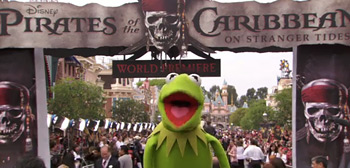 Kermit-Cam from the Pirates of the Caribbean 4
