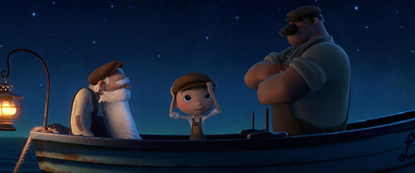Pixar's La Luna - First Look Photo