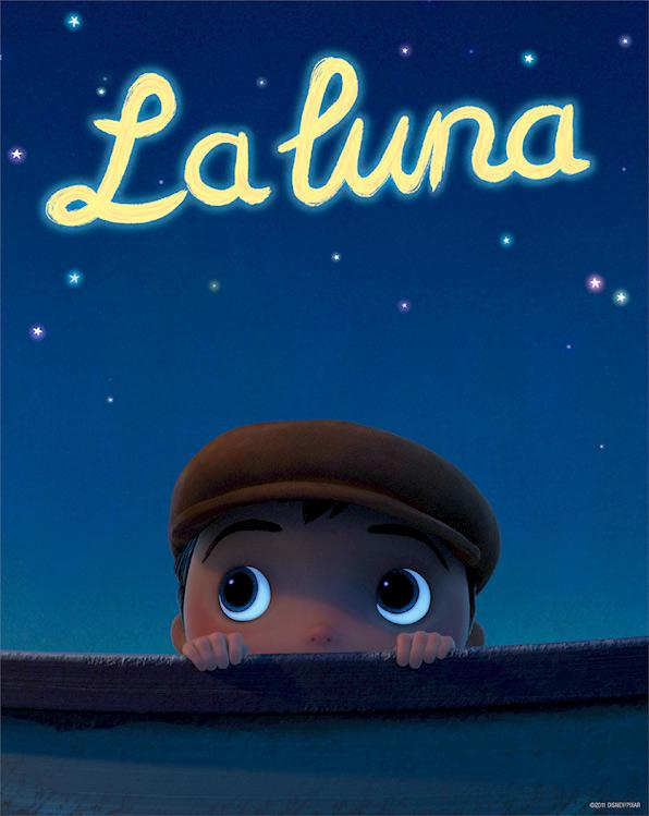 Pixar's La Luna - Poster