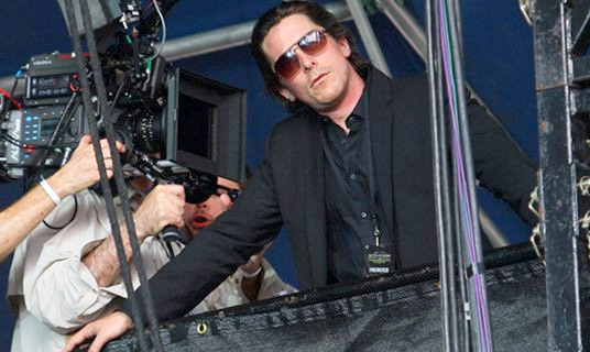 Christian Bale Filming at ACL