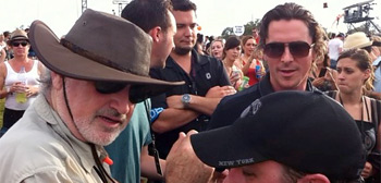 Terrence Malick &#038; Christian Bale
