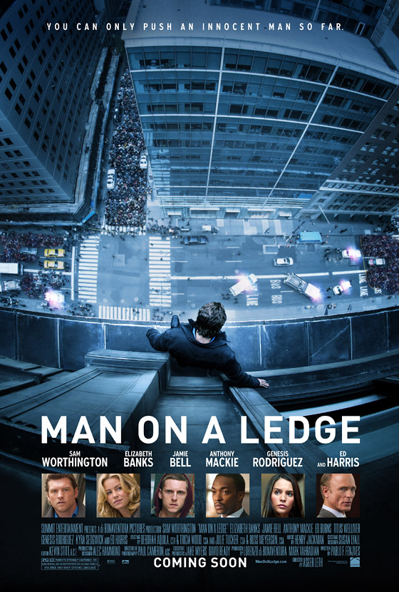 Man on a Ledge Teaser Poster
