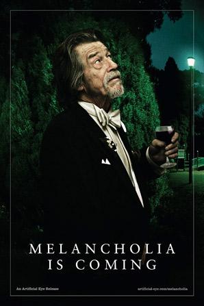 Melancholia Poster - John Hurt