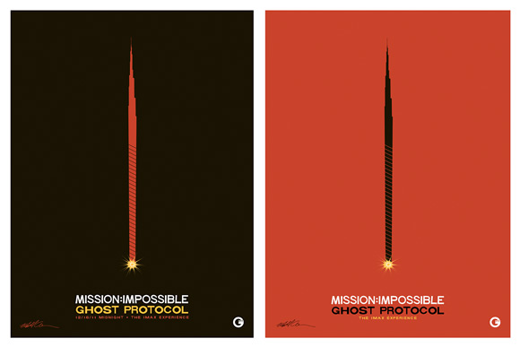 Matt Owen Mission: Impossible Ghost Protocol IMAX Poster