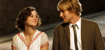 Marion Cotillard &#038; Owen Wilson in Midnight in Paris