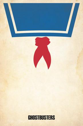 Brickhut Poster - Ghostbusters