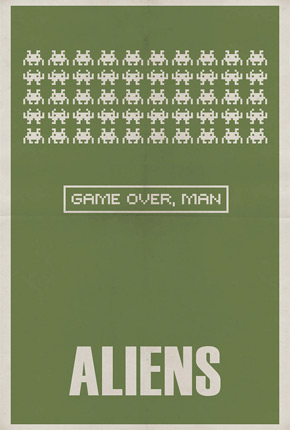 Brickhut Poster - Alien