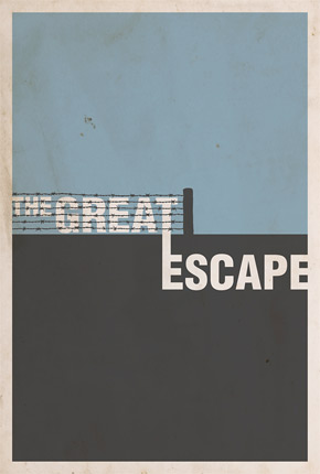 Brickhut Poster - The Great Escape