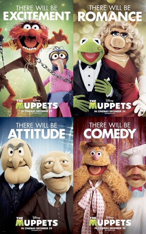 The Muppets Character Posters
