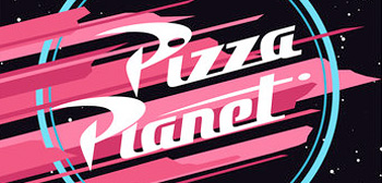 Pizza Planet - Pixar Establishments Posters