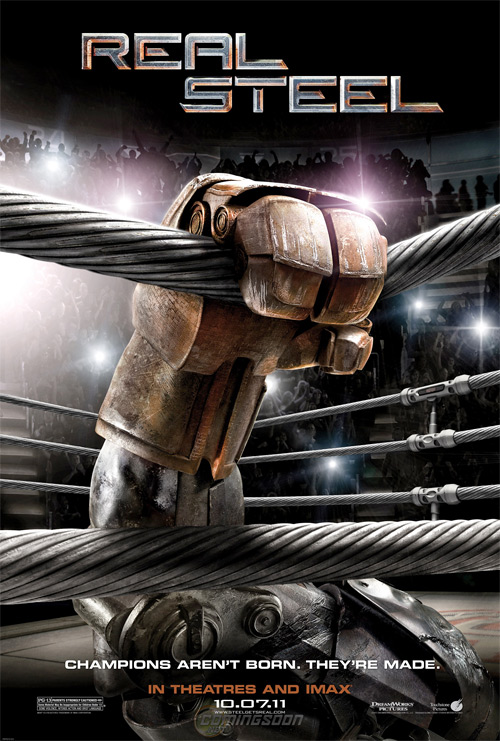 Real Steel Teaser Poster
