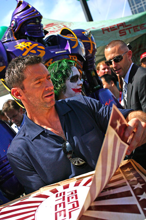 Hugh Jackman's Real Steel Event - Comic-Con 2011