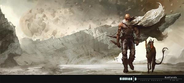 Vin Diesel's Riddick Concept Art