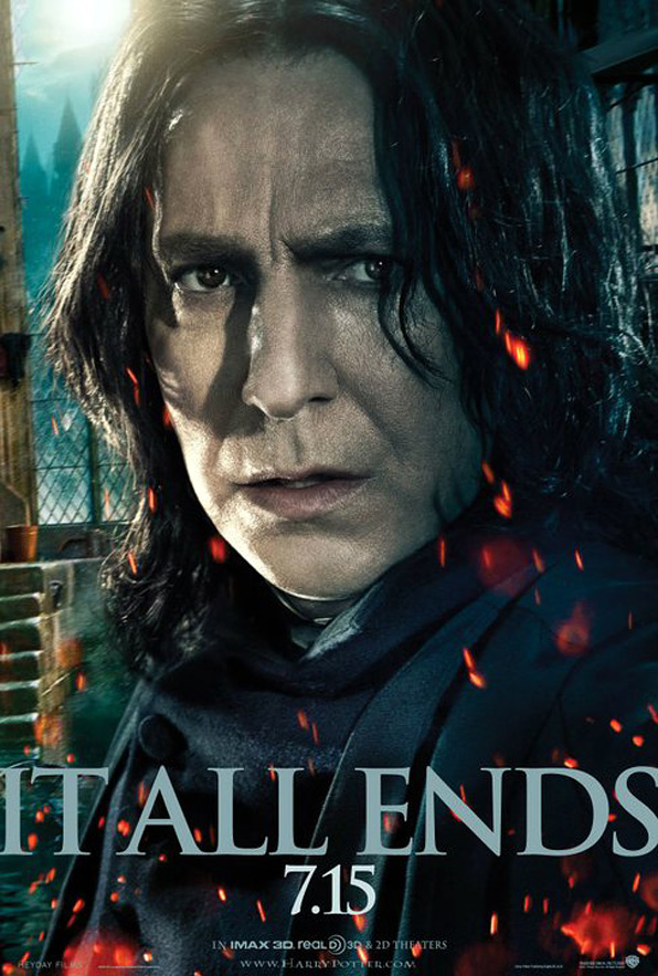 Harry Potter and the Deathly Hallows: Part 2 Poster - Snape