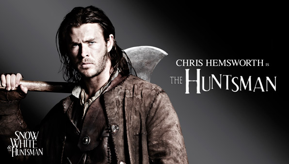 Chris Hemsworth is The Huntsman