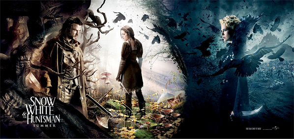 Snow White and the Huntsman Character Banner