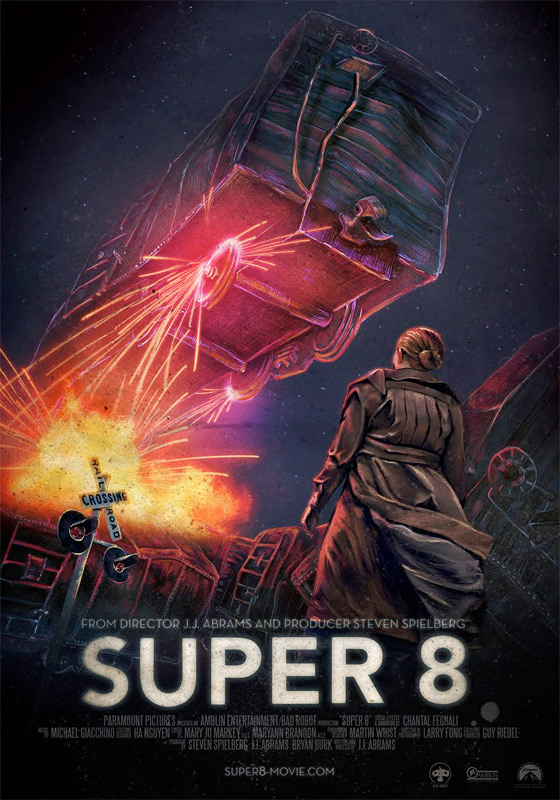 Super 8 - Unused Poster #2