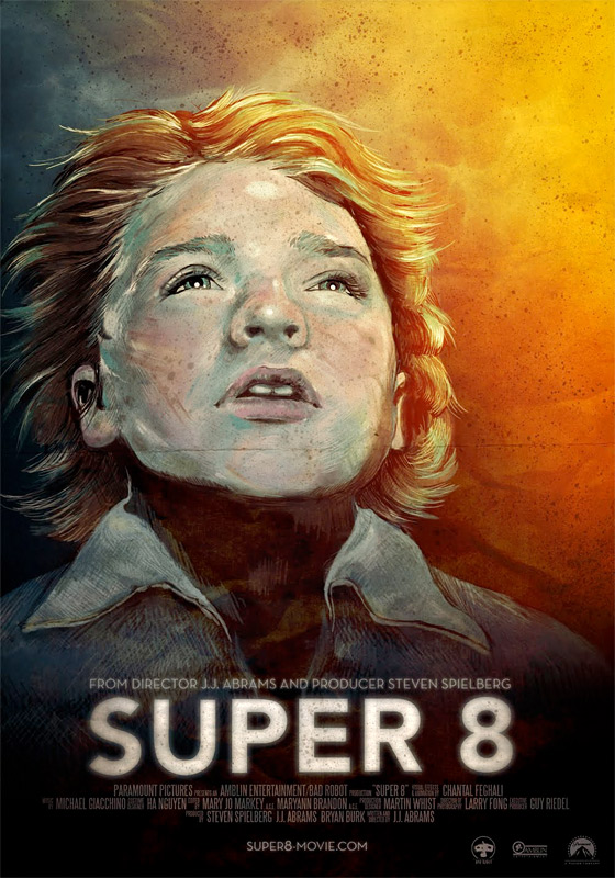 Super 8 - Unused Poster #1