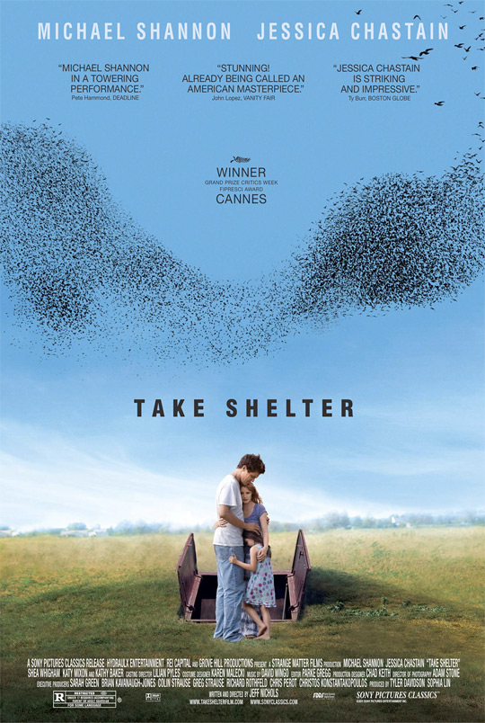 Jeff Nichols' Take Shelter Poster