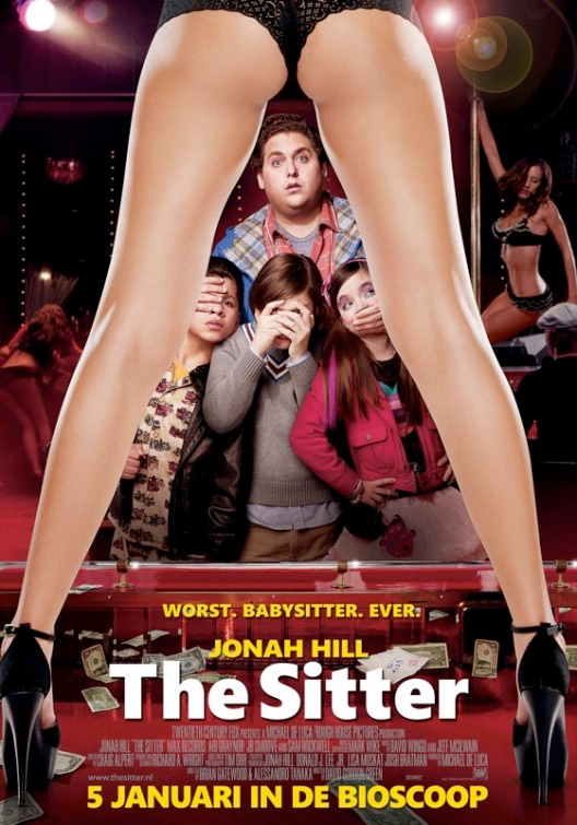 The Sitter Dutch Poster