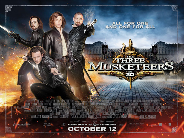 The Three Musketeers UK Quad