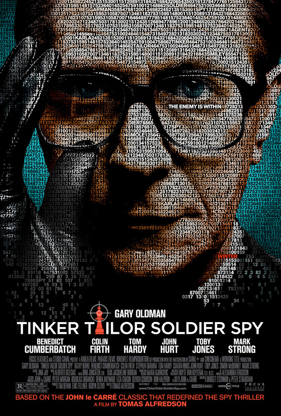 Tinker, Tailor, Soldier, Spy Poster - Enemy is Within